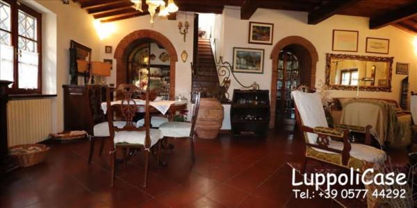 Villa in vendita a Castelnuovo Berardenga, Arredato, con giardino, 222 mq - Foto 6