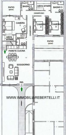 Appartamento in vendita a Milano, P.za Segesta, Con giardino, 240 mq - Foto 2