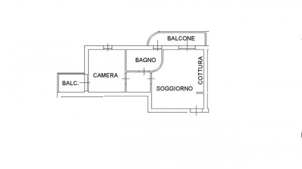Appartamento in vendita a Canegrate, Centro Canegrate, Arredato, 60 mq - Foto 2