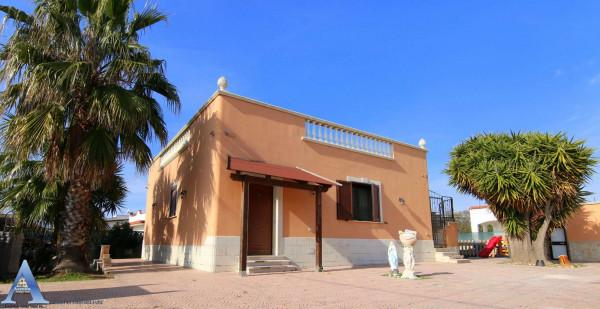 Villa in vendita a Leporano, Gandoli - Saturo, Con giardino, 113 mq - Foto 1