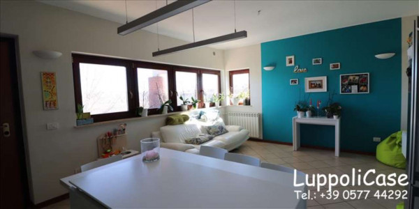 Appartamento in vendita a Monteroni d'Arbia, Arredato, con giardino, 80 mq - Foto 10