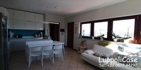 Appartamento in vendita a Monteroni d'Arbia, Arredato, con giardino, 80 mq