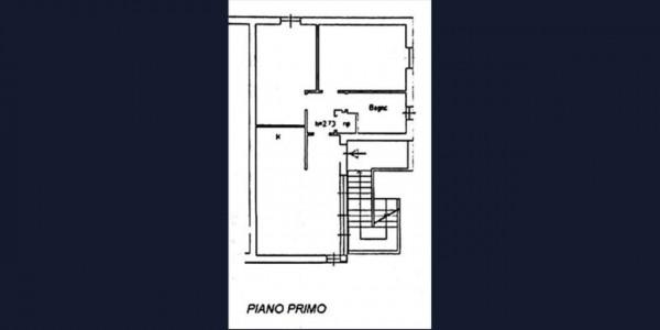 Appartamento in vendita a Monteroni d'Arbia, Arredato, con giardino, 80 mq - Foto 13