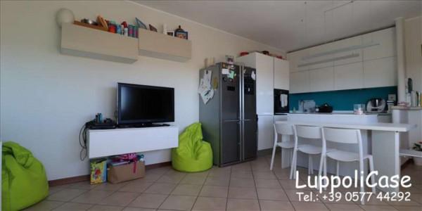 Appartamento in vendita a Monteroni d'Arbia, Arredato, con giardino, 80 mq - Foto 8