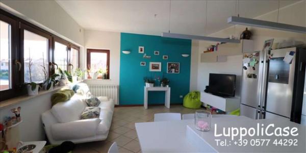 Appartamento in vendita a Monteroni d'Arbia, Arredato, con giardino, 80 mq - Foto 11
