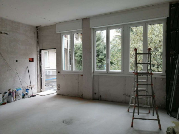 Appartamento in vendita a Milano, Con giardino, 120 mq - Foto 12
