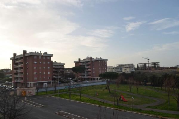 Appartamento in vendita a Roma, Acilia Stazione, Con giardino, 95 mq