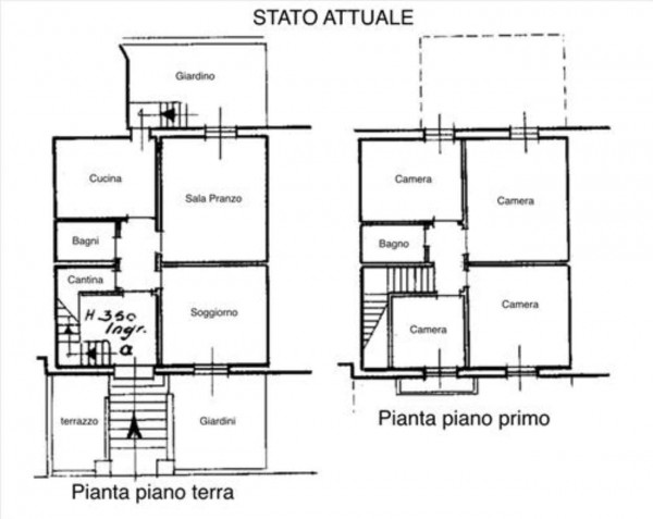 Villa in vendita a Siena, Con giardino, 186 mq - Foto 11