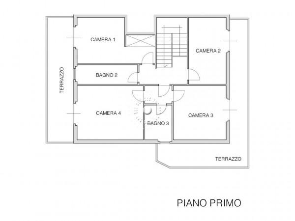 Villetta a schiera in vendita a Impruneta, Con giardino, 302 mq - Foto 4