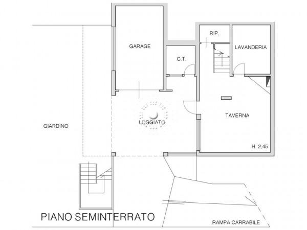 Villetta a schiera in vendita a Impruneta, Con giardino, 302 mq - Foto 3