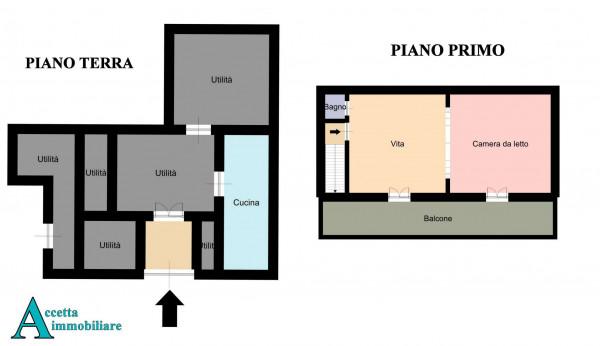 Casa indipendente in vendita a Crispiano, Centrale, 109 mq - Foto 2