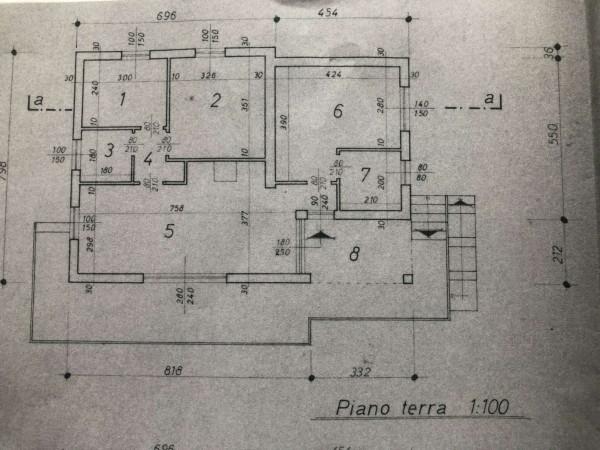 Villa in vendita a Cittiglio, Località Pozzit, Con giardino, 120 mq - Foto 3