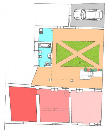 Casa indipendente in vendita a Crema, Centro, Con giardino, 169 mq - Foto 59