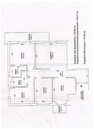Appartamento in vendita a Firenze, Via Aretina, Arredato, con giardino, 90 mq - Foto 3