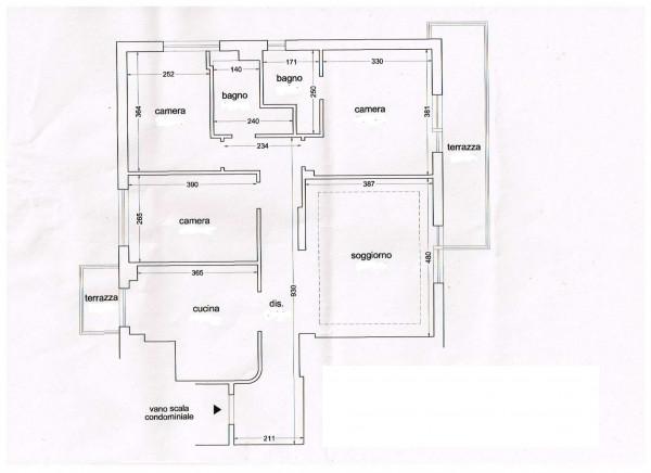 Appartamento in vendita a Firenze, Via Aretina, Arredato, con giardino, 90 mq - Foto 2