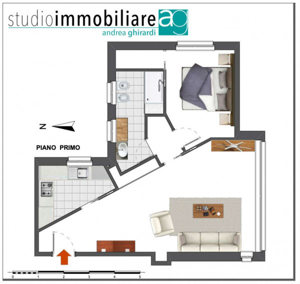 Appartamento in vendita a Arenzano, Pineta, Arredato, con giardino, 60 mq - Foto 2