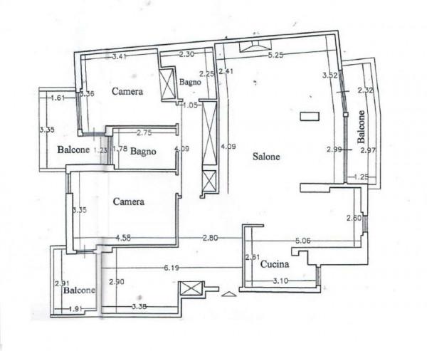 Appartamento in vendita a Roma, Cesarepavese, Con giardino, 130 mq - Foto 2