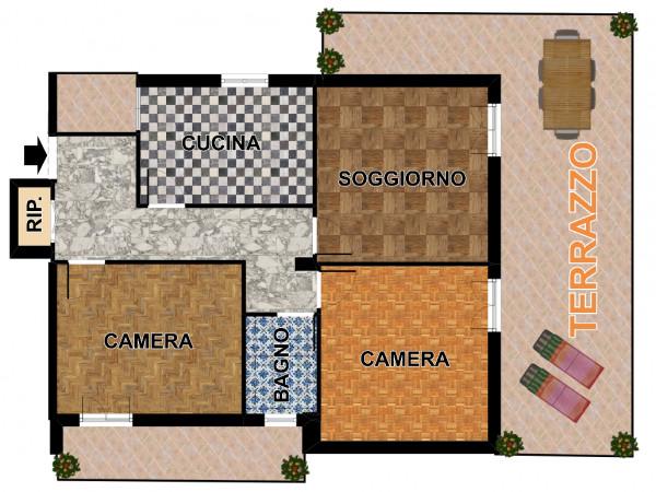 Appartamento in vendita a Lavagna, Centrale, 100 mq