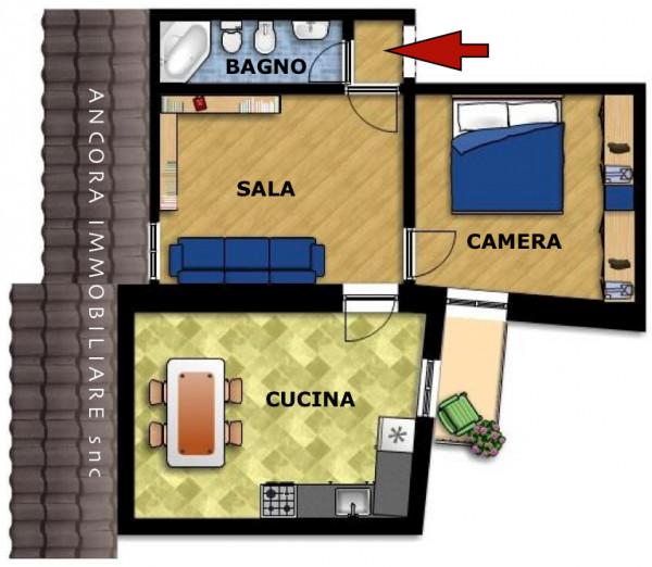Appartamento in vendita a Lavagna, Centrale, 60 mq