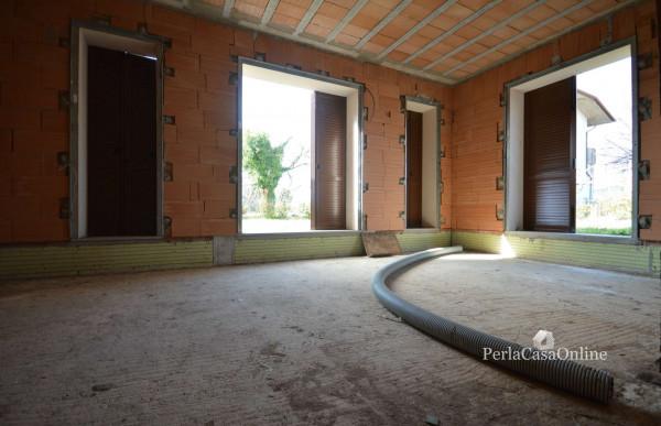 Villetta a schiera in vendita a Forlì, Cava, Con giardino, 171 mq - Foto 19