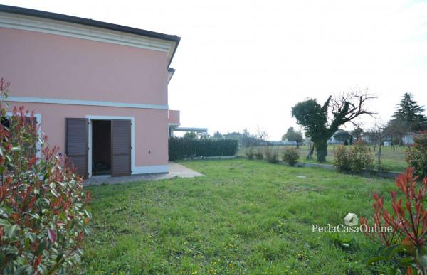 Villetta a schiera in vendita a Forlì, Cava, Con giardino, 171 mq - Foto 23