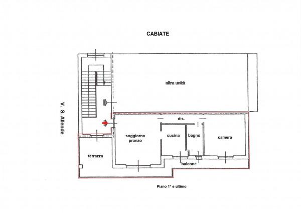Appartamento in vendita a Cabiate, Con giardino, 84 mq - Foto 3