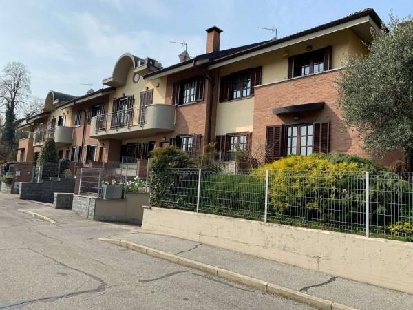 Villetta a schiera in vendita a Alpignano, Colgiansesco, Con giardino, 200 mq