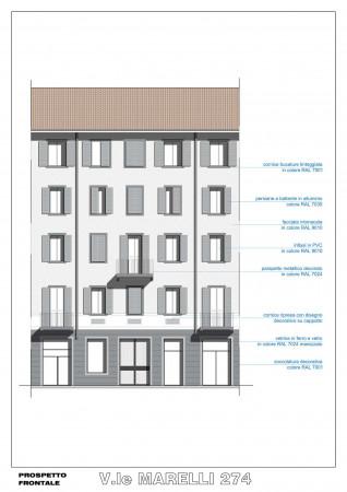 Appartamento in vendita a Sesto San Giovanni, Marelli, 46 mq