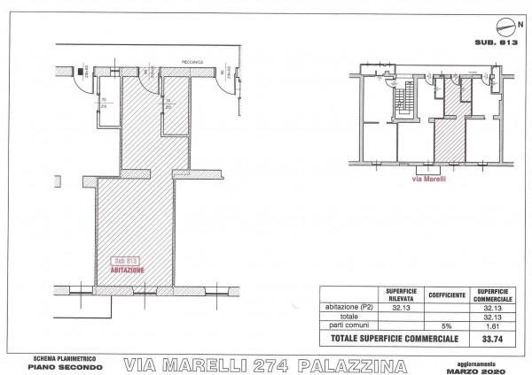 Appartamento in vendita a Sesto San Giovanni, Marelli, 33 mq - Foto 4