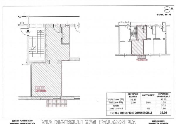 Appartamento in vendita a Sesto San Giovanni, Marelli, 40 mq - Foto 4