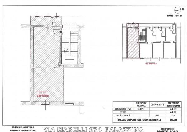 Appartamento in vendita a Sesto San Giovanni, Marelli, 47 mq - Foto 4