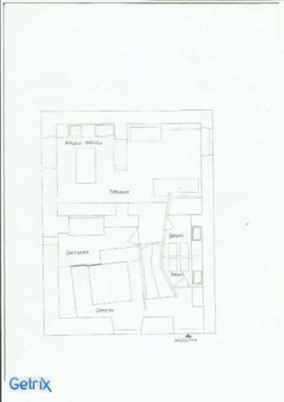 Appartamento in vendita a Roma, Trastevere, Con giardino, 72 mq - Foto 18