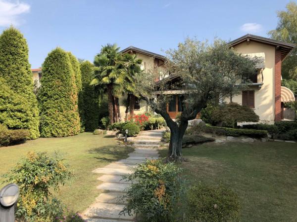 Villa in vendita a Angera, Barzola, Con giardino, 450 mq - Foto 7