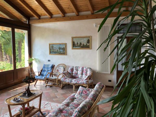 Villa in vendita a Angera, Barzola, Con giardino, 450 mq - Foto 18