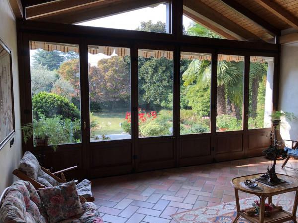 Villa in vendita a Angera, Barzola, Con giardino, 450 mq