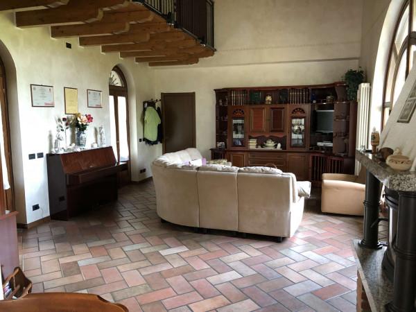 Villa in vendita a Angera, Barzola, Con giardino, 450 mq - Foto 22