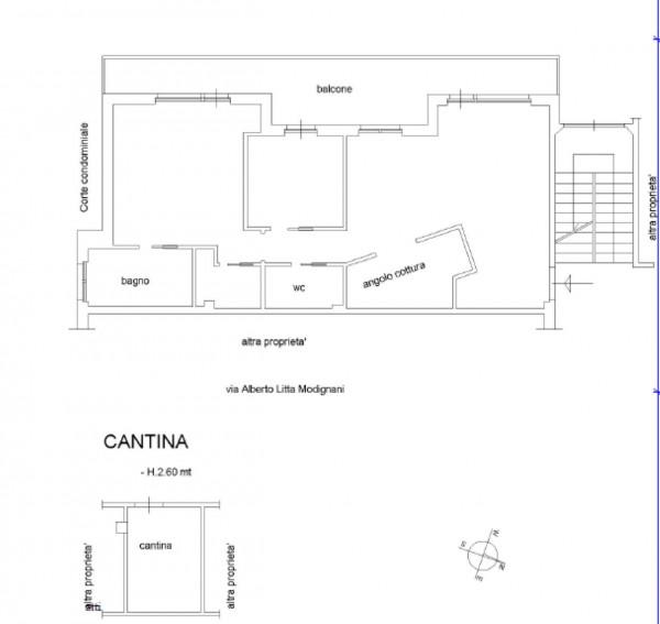 Appartamento in vendita a Roma, Mostacciano, Con giardino, 80 mq - Foto 2