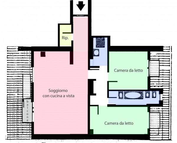 Appartamento in vendita a Milano, Caiazzo, 105 mq - Foto 2