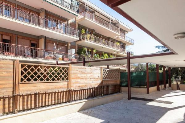 Appartamento in vendita a Roma, Mezzocammino, Con giardino, 170 mq