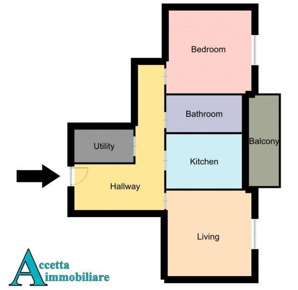 Appartamento in vendita a Taranto, Rione Italia, Montegranaro, 85 mq - Foto 2