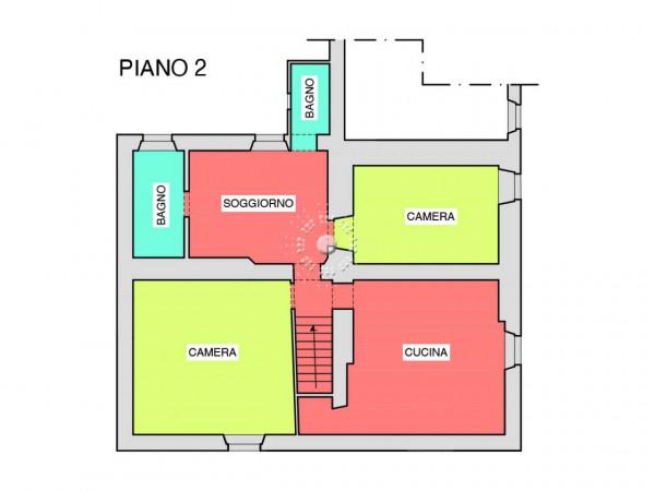 Rustico/Casale in vendita a Pontassieve, Con giardino, 350 mq - Foto 2