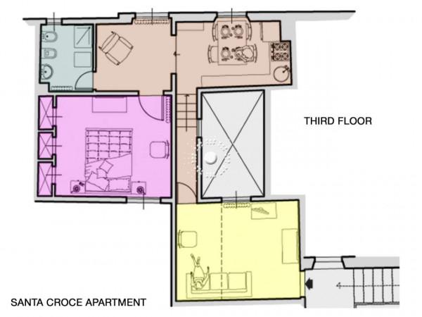 Appartamento in affitto a Firenze, Arredato, 58 mq - Foto 4