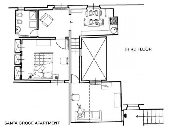 Appartamento in affitto a Firenze, Arredato, 58 mq - Foto 2
