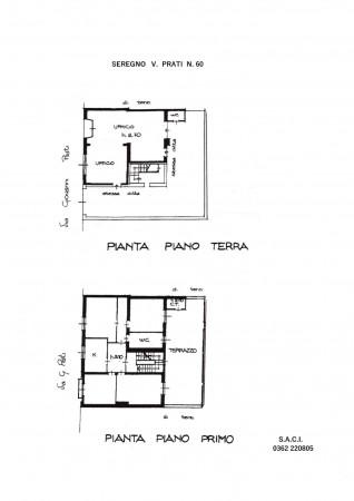 Casa indipendente in vendita a Seregno, Semicentrale, Con giardino, 440 mq - Foto 2