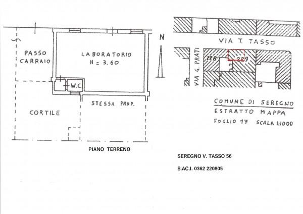 Appartamento in vendita a Seregno, S. Rocco, 54 mq - Foto 3