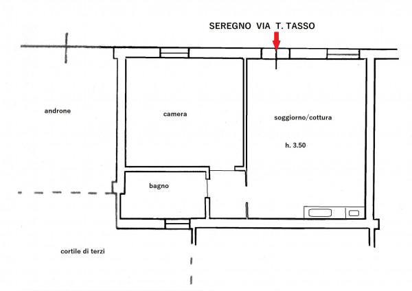 Appartamento in vendita a Seregno, S. Rocco, 54 mq - Foto 2