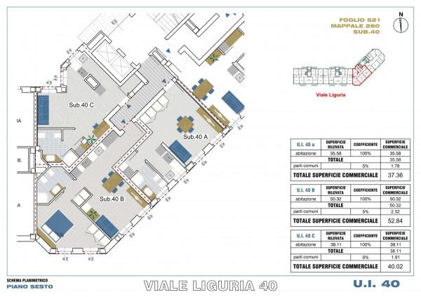 Appartamento in vendita a Milano, Romolo, Con giardino, 53 mq - Foto 3