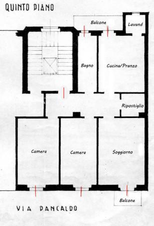 Appartamento in affitto a Milano, Porta Venezia, 100 mq - Foto 2