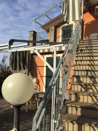 Casa indipendente in vendita a Bonassola, Fornello, Arredato, con giardino, 125 mq - Foto 13