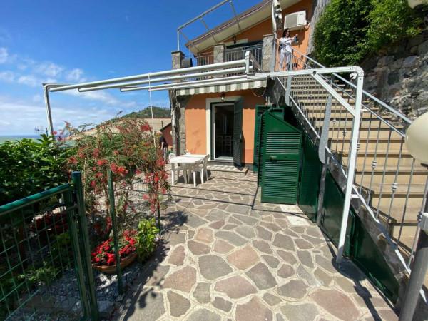 Casa indipendente in vendita a Bonassola, Fornello, Arredato, con giardino, 125 mq - Foto 27